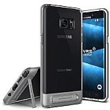 VRS Design Crystal Bumper Samsung Galaxy Note FE Steel Silver Kılıf