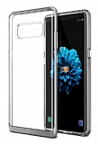 VRS Design Crystal Bumper Samsung Galaxy Note 8 Light Silver Kılıf