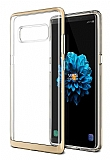 VRS Design Crystal Bumper Samsung Galaxy Note 8 Shine Gold Kılıf