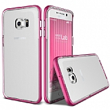 Verus Crystal Bumper Samsung Galaxy S6 Edge Plus Hot Pink Kılıf