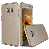 Verus Crystal Bumper Samsung Galaxy S6 Edge Plus Shine Gold Kılıf