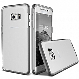 Verus Crystal Bumper Samsung Galaxy S6 Edge Plus Steel Silver Kılıf
