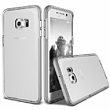 Verus Crystal Bumper Samsung Galaxy S6 Edge Plus Light Silver Kılıf
