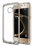 Verus Crystal Bumper Samsung Galaxy S7 Edge Shine Gold Kılıf