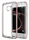 Verus Crystal Bumper Samsung Galaxy S7 Edge Rose Gold K�l�f