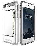 Verus Damda Clip iPhone 6 / 6S Grey + Pearl White Kılıf
