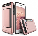 Verus Damda Clip iPhone 6 / 6S Black + Rose Gold Kılıf
