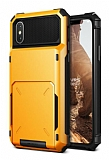 VRS Design Damda Folder iPhone X Volcano Yellow Kılıf
