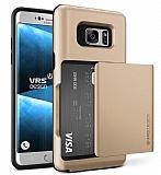 VRS Design Damda Glide Samsung Galaxy Note FE Shine Gold Kılıf