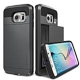 Verus Damda Slide Samsung Galaxy S6 Edge Steel Silver Kılıf