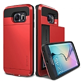 Verus Damda Slide Samsung Galaxy S6 Edge Crimson Red Kılıf