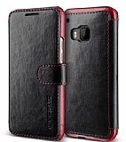 Verus Dandy Layered Leather HTC One M9 Siyah Kılıf