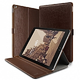 Verus Dandy Layered Leather iPad Pro 12.9 Kahverengi K�l�f
