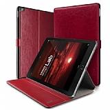 Verus Dandy Layered Leather iPad Pro 9.7 Kırmızı Kılıf