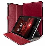 Verus Dandy Layered Leather iPad Pro 12.9 Kırmızı Kılıf