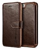 Verus Dandy Layered Leather iPhone SE / 5 / 5S Kahverengi Kılıf