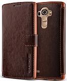 Verus Dandy Layered Leather LG G4 Kahverengi Kılıf