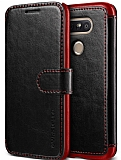 Verus Dandy Layered Leather LG G5 Siyah Kılıf