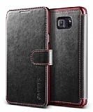 Verus Dandy Layered Leather Samsung Galaxy Note 5 Siyah Kılıf