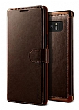 VRS Design Dandy Layered Leather Samsung Galaxy Note 8 Kahverengi Kılıf