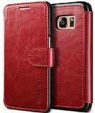 Verus Dandy Layered Leather Samsung Galaxy S7 Kırmızı Kılıf