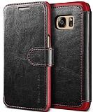 Verus Dandy Layered Leather Samsung Galaxy S7 Siyah Kılıf
