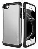 Verus Thor Series Hard Drop iPhone SE / 5 / 5S Light Silver K�l�f
