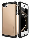 Verus Thor Series Hard Drop iPhone SE / 5 / 5S Gold Kılıf