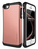 Verus Thor Series Hard Drop iPhone SE / 5 / 5S Rose Gold Kılıf