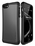 Verus Thor Series Hard Drop iPhone SE / 5 / 5S Steel Silver K�l�f