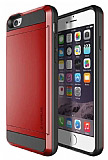 Verus iPhone 6 / 6S Damda Slide Crimson Red Kılıf