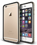 Verus Iron Bumper iPhone 6 / 6S Black + Gold Kılıf