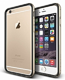 Verus Iron Bumper iPhone 6 Plus / 6S Plus Black + Gold Kılıf