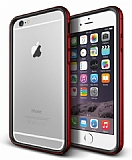 Verus Iron Bumper iPhone 6 Plus / 6S Plus Black + Red K�l�f