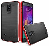 Verus New Iron Shield Samsung N9100 Galaxy Note 4 Kiss Red K�l�f