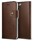 Verus Native Diary iPhone 7 Koyu Kahverengi Kılıf