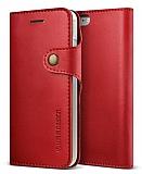 Verus Native Diary iPhone 7 Kırmızı Kılıf