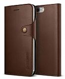 Verus Native Diary iPhone 7 Plus Koyu Kahverengi Kılıf
