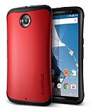 Verus Thor Series Hard Drop Motorola Nexus 6 Kırmızı Kılıf