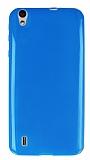 Vestel Venus 5530 Ultra İnce Mavi Silikon Kılıf