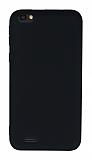 Vestel Venus Go / E2 Plus Mat Siyah Silikon Kılıf