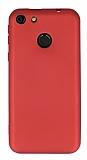 Vestel Venus E4 Mat Kırmızı Silikon Kılıf