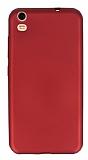 Vestel Venus V5 Mat Kırmızı Silikon Kılıf