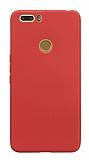 Vestel Venus Z20 Mat Kırmızı Silikon Kılıf