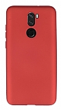 Vestel Venus Z30 Mat Kırmızı Silikon Kılıf