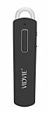 Vidvie BT823N Siyah Kablosuz Mini Bluetooth Kulaklık