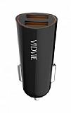 Vidvie CC505I Mini Çift Çıkışlı Siyah Lightning Araç Şarj Cihazı