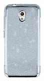 Vodafone Smart 7 Style Simli Silver Silikon Kılıf