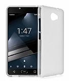 Vodafone Smart 7 Ultra Şeffaf Beyaz Silikon Kılıf