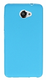 Vodafone Smart 7 Ultra Mavi Silikon Kılıf